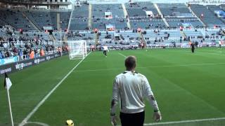 Tim Krul, Andy Woodman & Rob Elliott - Newcastle Goalkeepers
