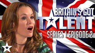 Britain's Got Talent Auditions Full Episode   Series 1 Episode 2