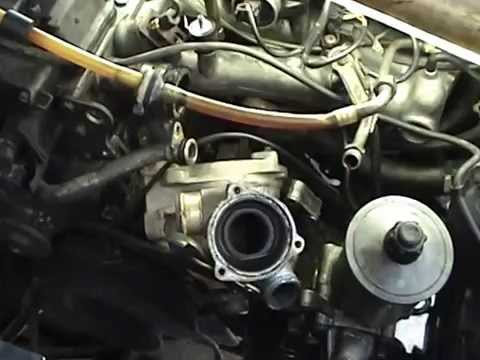 Mercedes 300E Water pump replacement  YouTube