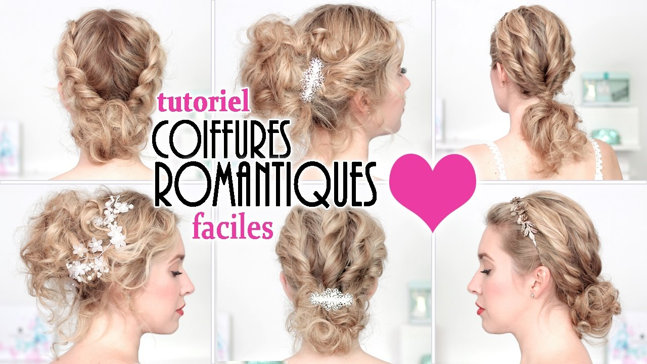 Chignon facile a faire cheveux mi long