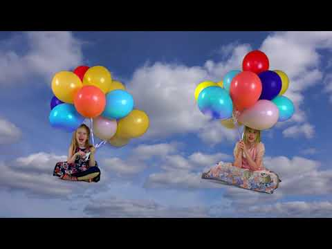 Pretty Balloons (Live Action Version) -- Little Blue Globe Band