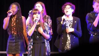 Down - (Emily King Cover) - performed by FUSE - A Cappella Academy Showcase 2015