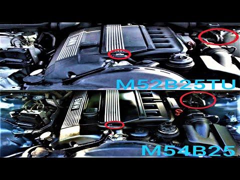 Отличия M52TU от M54 двигатели BMW