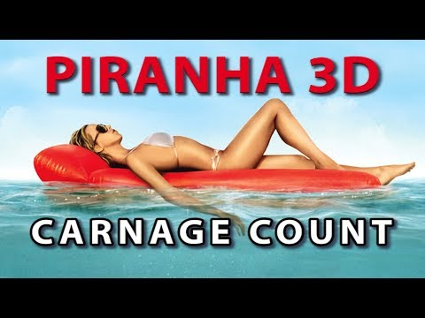 Piranha 3D 2010 Carnage Count