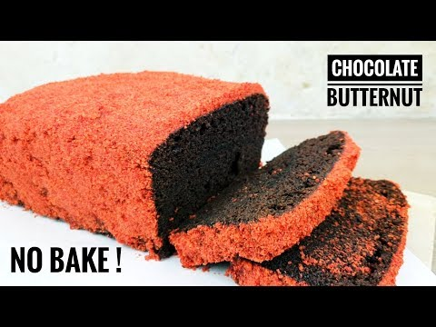 How To Make Chocolate Butternut Cake | Choco Butternut Loaf | No Bake Choco Butternut Cake