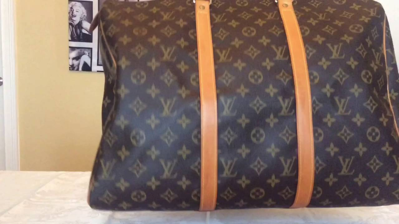Louis Vuitton Collection Flanerie 45 Monogram Canvas - YouTube 0ca98703f4336