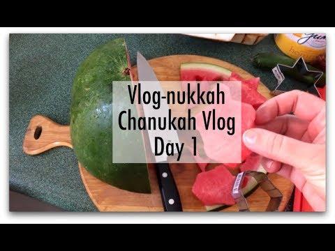 Vlognukkah Day 1 25 Kislev Chanukah At Shule Eli S 5th Birthday