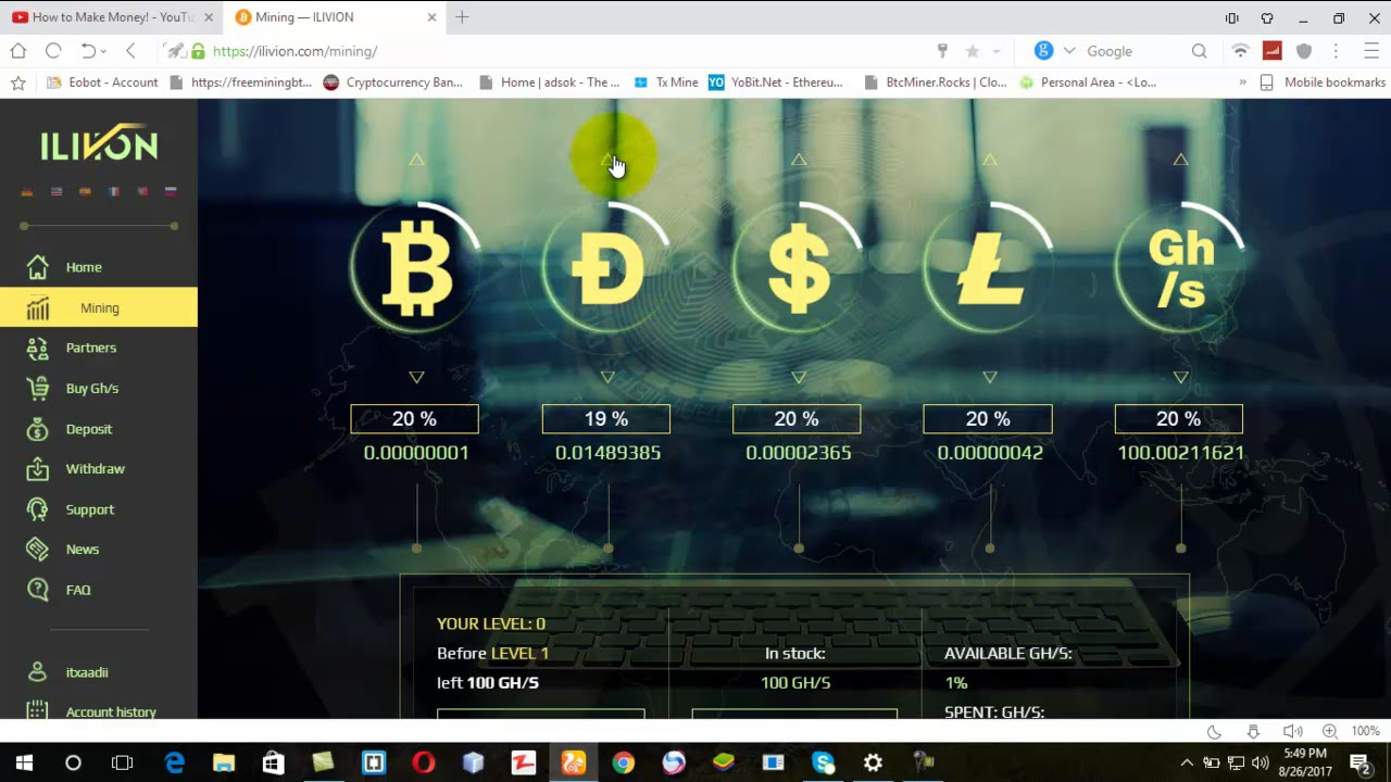 Ilivion new all coins mining site 100 ghs earn free bitcoins fast ilivion new all coins mining site 100 ghs earn free bitcoins fast daily without investment ccuart Gallery