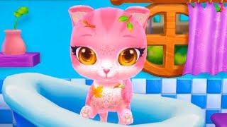 Мой ПУШИСТИК #11 Розовый Котёнок Мультик Игра для Детей