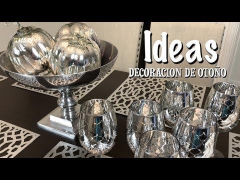 IDEAS PARA DECORAR TU COMEDOR EN OTOÑO/HOME DECOR IDEAS/DIY/DECORACION FALL