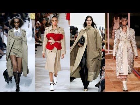 Stylish women trench coats 2018