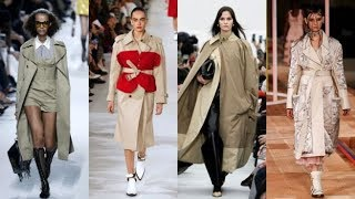 Stylish women trench coats 2018