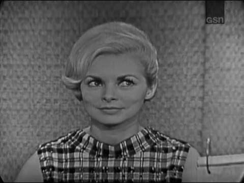 What's My Line?  Janet Leigh; John Payne panel Dec 3, 1961