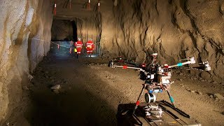 Drones are now flying deep underground to map mines