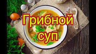 Грибной суп | Ароматный грибной суп из белых грибов