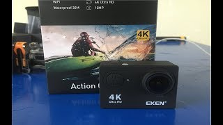 Eken H9R Ultra HD 4K Action Camera | Unboxing and Test
