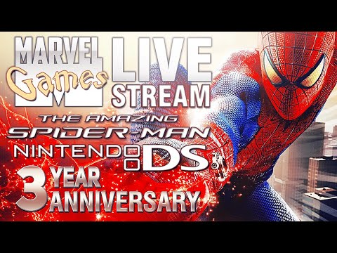 MG Live Stream #200 - The Amazing Spider-Man (DS)