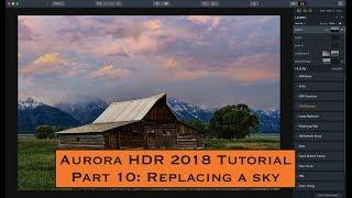 Aurora HDR 2018 Tutorial, Part 10: Replacing a Sky