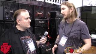 TTK meets Ola Englund!  Interview!  NAMM 2013 : RANDALL SATAN & Seymour Duncan Black Winter Pickups
