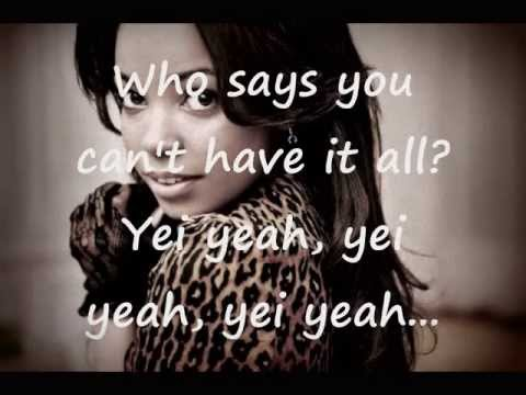 Dionne Bromfield - Who Says You Can't Have It All  lyrics