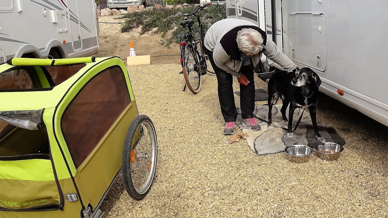 """Hund im Wohnmobil """"Spanien-Reise""""!"""