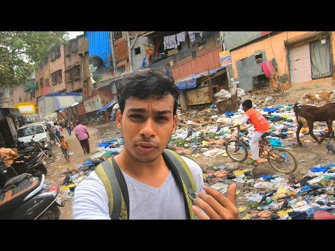 Entering the Biggest Slum in India (Poor vs Rich) - Social Experiment | TamashaBera