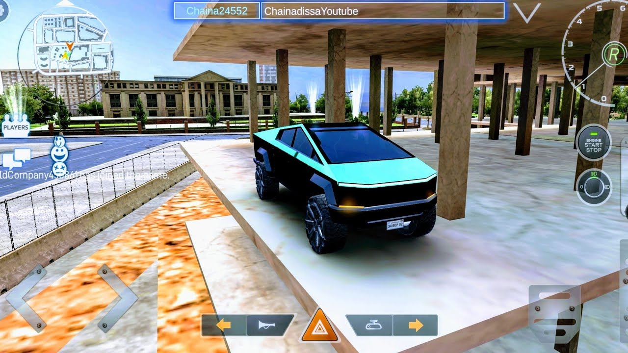 Real car parking 2 Cybertruck  2020 new update !  Tesla ...