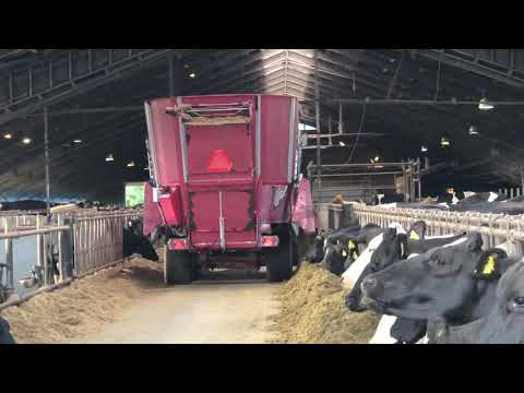 Intelligent Technology Modern Cow Milking Automatic Machine Hay Silage Feeding Tractor Smart Farming