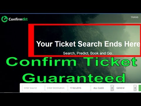 PNR Status Prediction Train Ticket Availablity Check Check Train Availablity Confirm Ticket