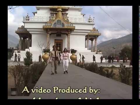 The National Memorial Chorten in Thimphu