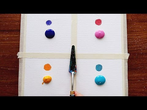 4 Type Of Drawing Sunset Easy Simple Acrylic Painting Step By Step For Beginners 261 Satisfying