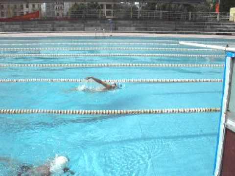 kỹ thuật bơi ngửa sv ĐHHH