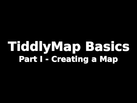 TiddlyMap Basics - Part I - Creating a Simple Concept Map to Link Your Wiki Topics