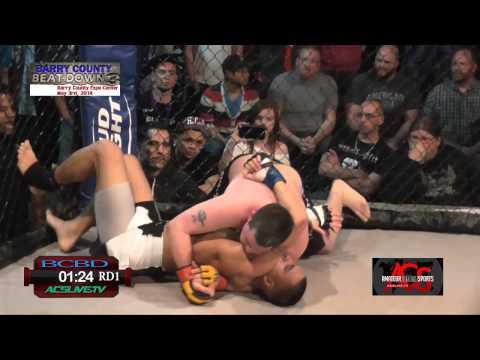 ACSLIVE.TV Presents Barry County Beatdown 3 Shaun Anoutai VS Cole Bowen