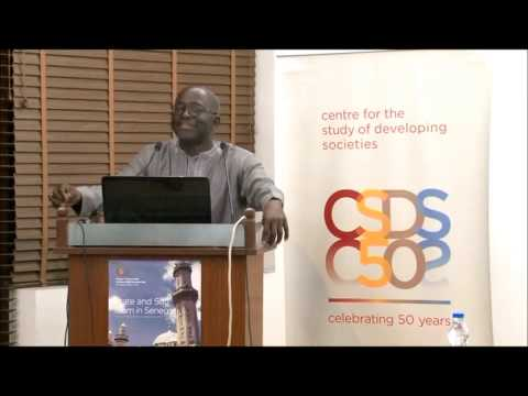 Mamadou Diouf at CSDS, Golden Jubilee Lecture