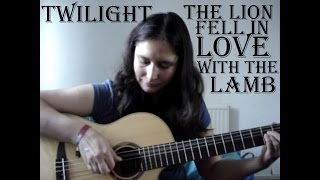 The lion fell in love with the lamb guitar cover with TAB