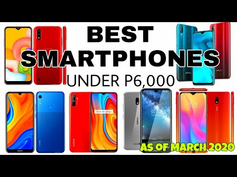 2020 BEST Smartphones Under PHP6,000 (S01E96)
