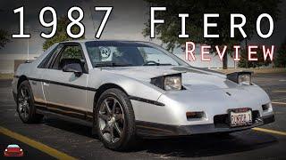 1987 Pontiac Fiero Review - Why I LOVE The 80s!
