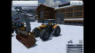 """SkiRegion Simulator 2012 Gameplay+Overview."" Episode 1 Gamingwithawsome"