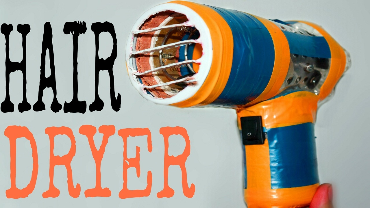 How To Make A Powerful Hair Dryer Simple And Easy Diy