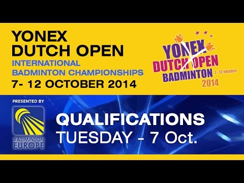 QR - MS - Antonio Benjamin GADI vs Fabian ROTH - 2014 Yonex Dutch Open