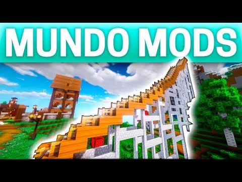 CONSTRUIMOS UN PUENTE AL CIELO / MUNDO MODS #27/ MINECRAFT SURVIVAL