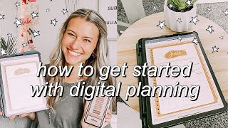 HOW TO DIGITALLY PĻAN ON IPHONE, MACBOOK, or IPAD! | digitally planning plan my life *FREE PLANNER!*