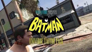 Batman Universe Tattoo Pack (Michael)