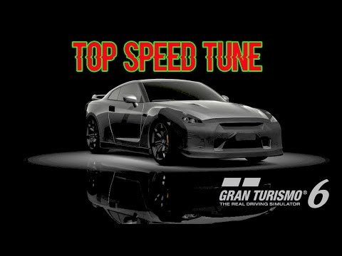 GT6 Top Speed Tune for the GT-R Black Mask 2007 (294mph/473 Kph) ps3