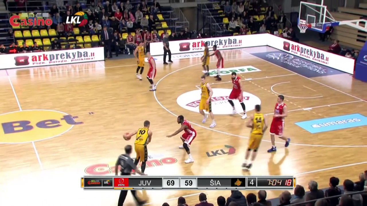 Donatas Sabeckis #10 LKL highlights. 2016/17 season