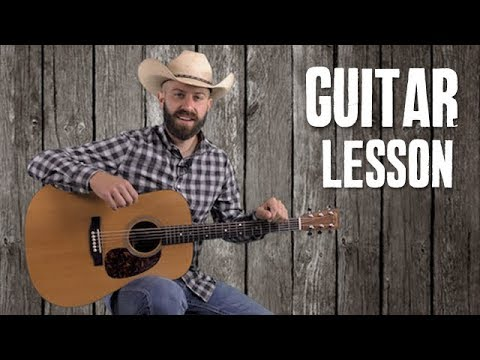 Merle Haggard Style Classic Country Intro & Fills - Guitar Lesson