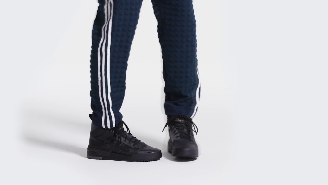 e93c3aefee Adidas Rivalry RM Shoes/Full Black/Adidas US    Original shoes    Official  Video