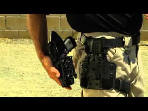 Safariland Model 6304 ALS / SLS Tactical Holster with the Quick Locking System (QLS)