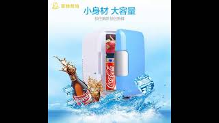 4L 미니 소형 음료 차량용 캠핑 냉장고 냉온장고 Cr…